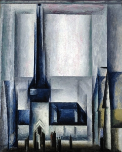 ah-art Feininger 1913 GELMERODA III, 1913,  National Galleries of Scotland