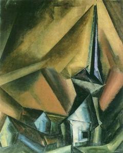 ah-art Feininger 1917 GELMERODA VII