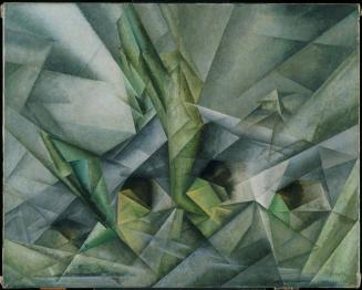 ah-art feininger 1919 Bridge V