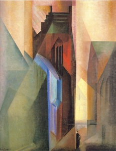 ah-art feininger 1925 Torturm II sm