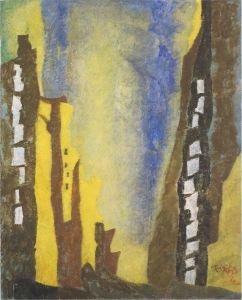 ah-art feininger 1940 manhattan I lge
