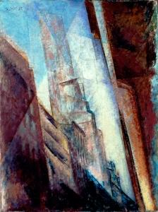 ah-art feininger 1940 manhattan II