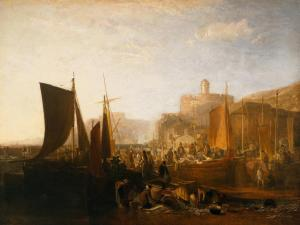 St Mawes at the Pilchard Season exhibited 1812 by Joseph Mallord William Turner 1775-1851