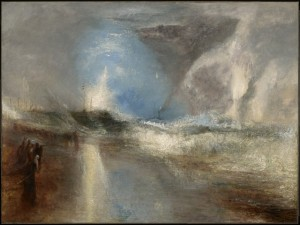 ah-art turner 1840 Rockets and Blue Lights (Close at Hand) to Warn Steamboats of Shoal Water 92.1 x 122.2 cm, Clark Art Inst, MA
