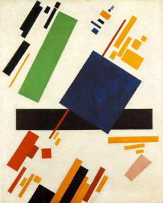 ad16-01 14 malevich 1916 Suprematist composition