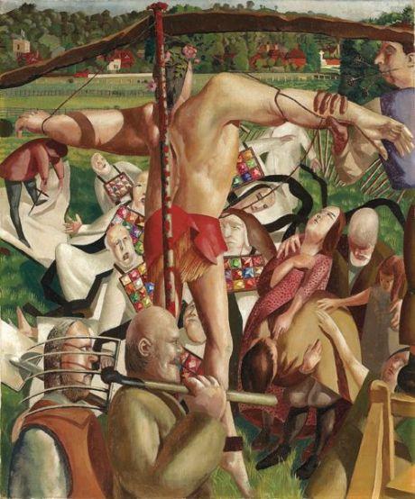 ah-art spencer 1934 crucifixion