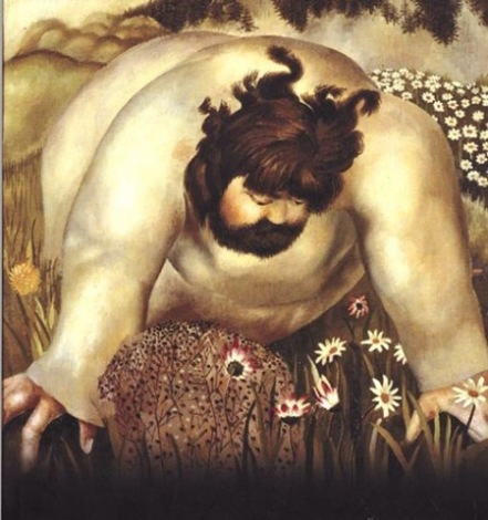 ah-art spencer 1939 Christ-in-the-wilderness Consider the lilies