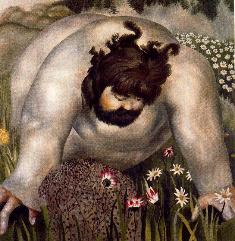 ah-art spencer 1939 christ in the wilderness, consider the lilies