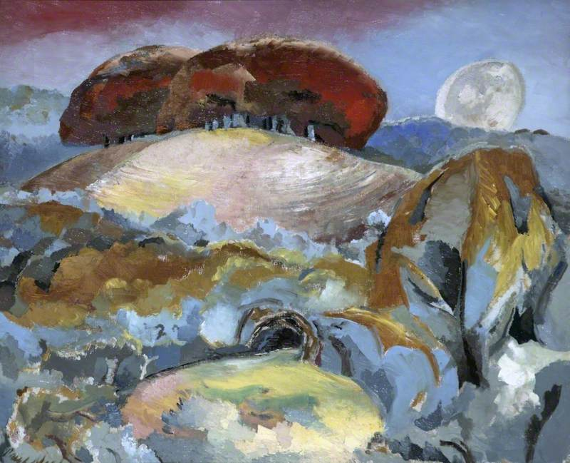 Nash, Paul, 1889-1946; Landscape of the Moon's Last Phase