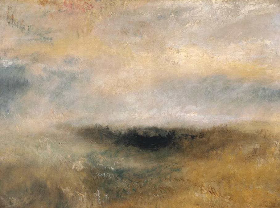 Seascape with Storm Coming On circa 1840 by Joseph Mallord William Turner 1775-1851